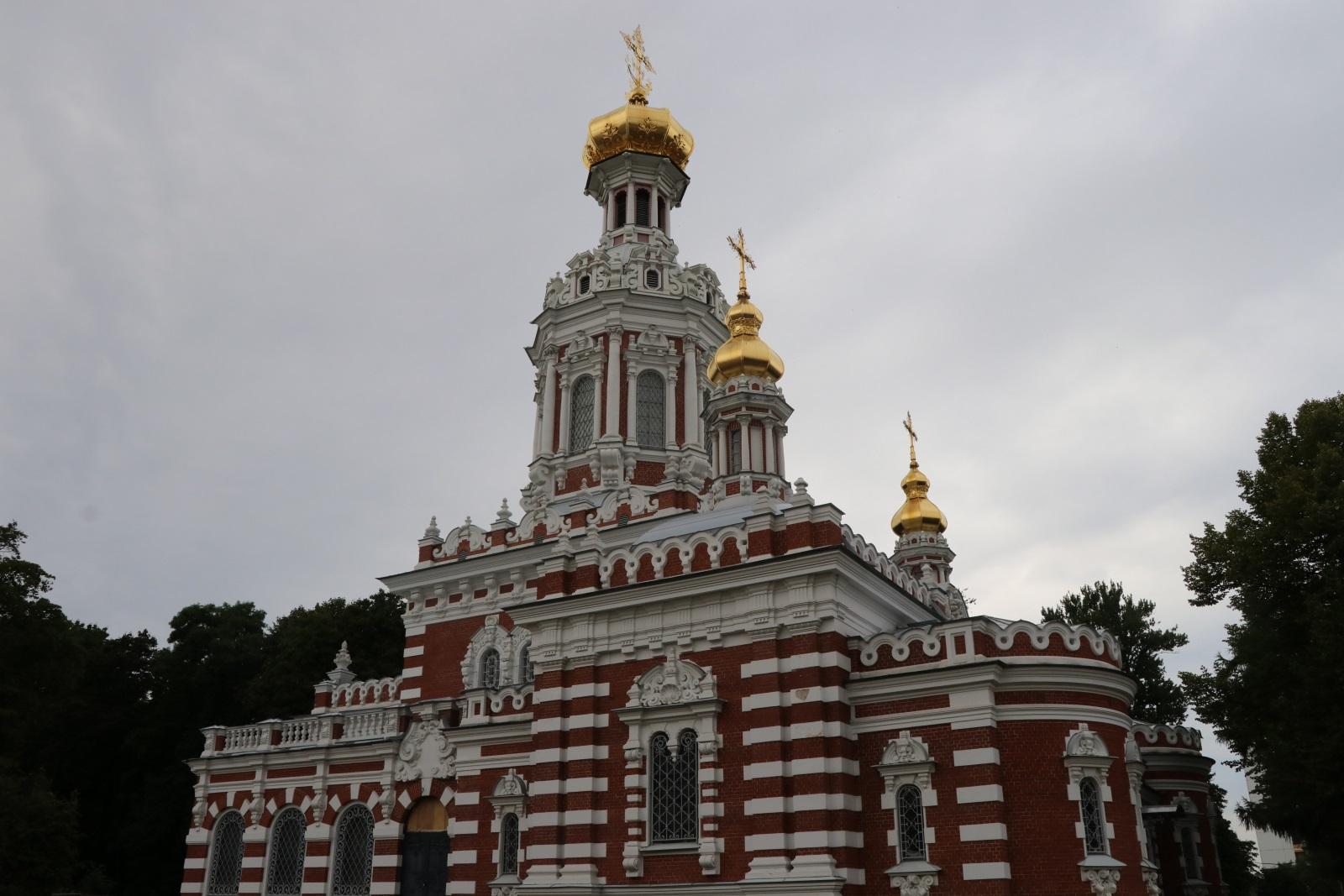 Православная часть Смоленского кладбища