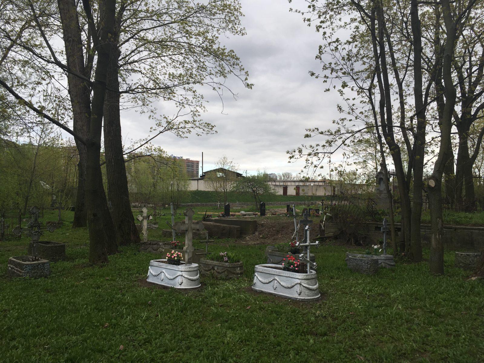 Громовское старообрядческое кладбище