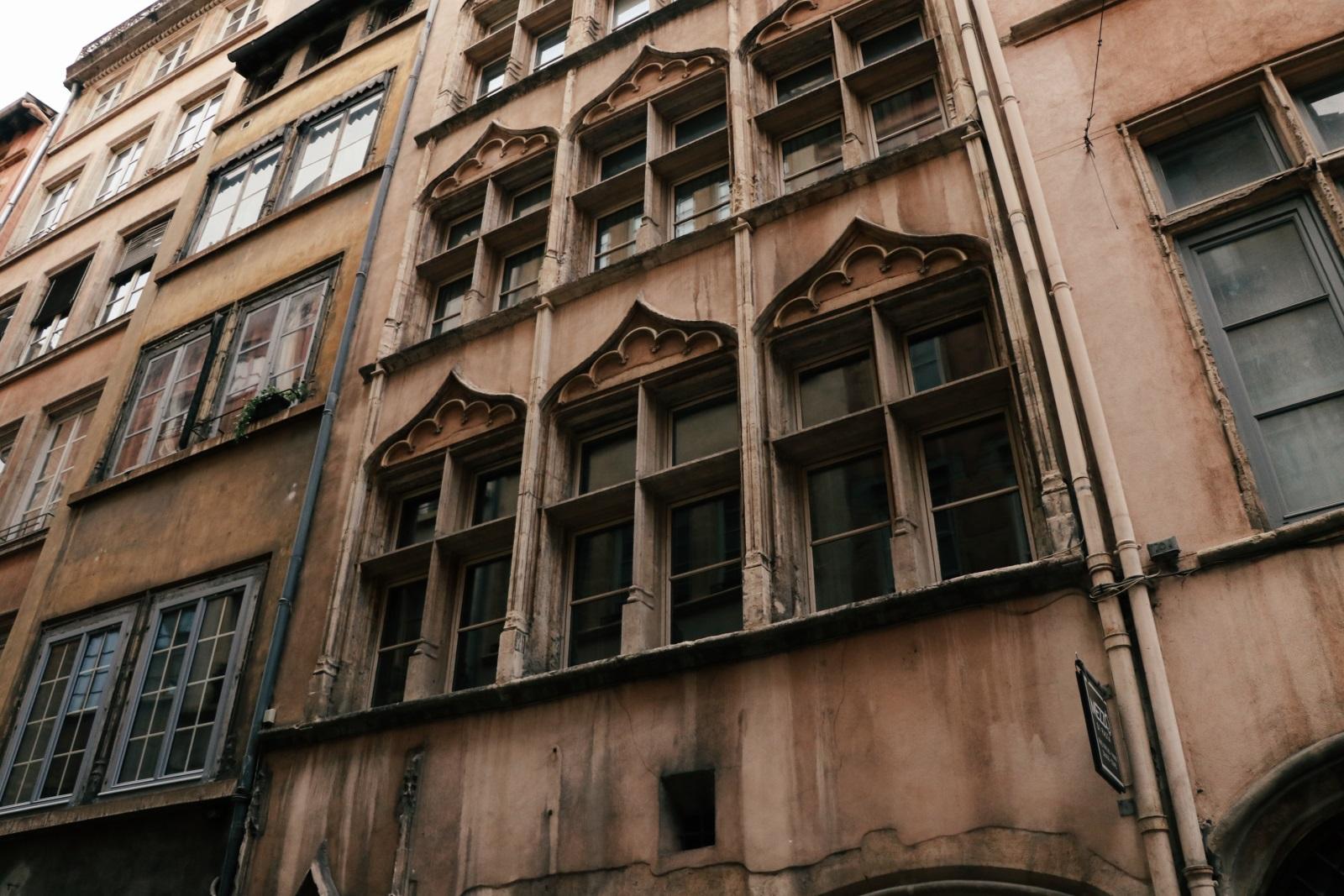 Vieux Lyon виды