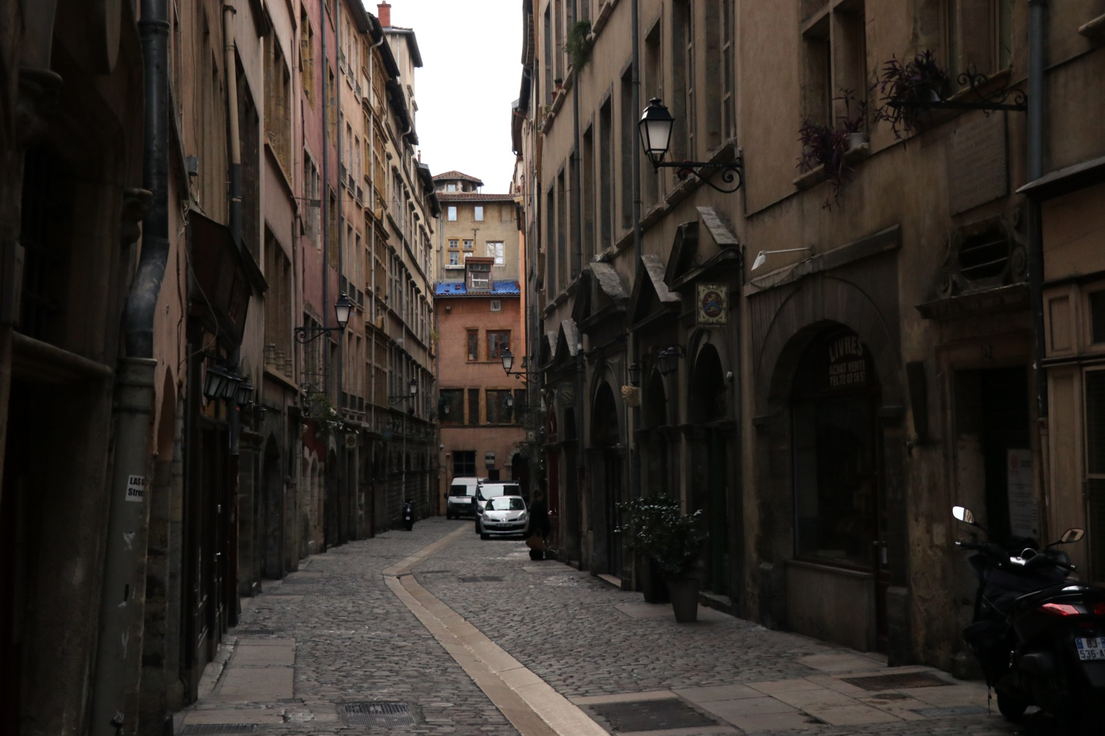 Улицы Vieux Lyon