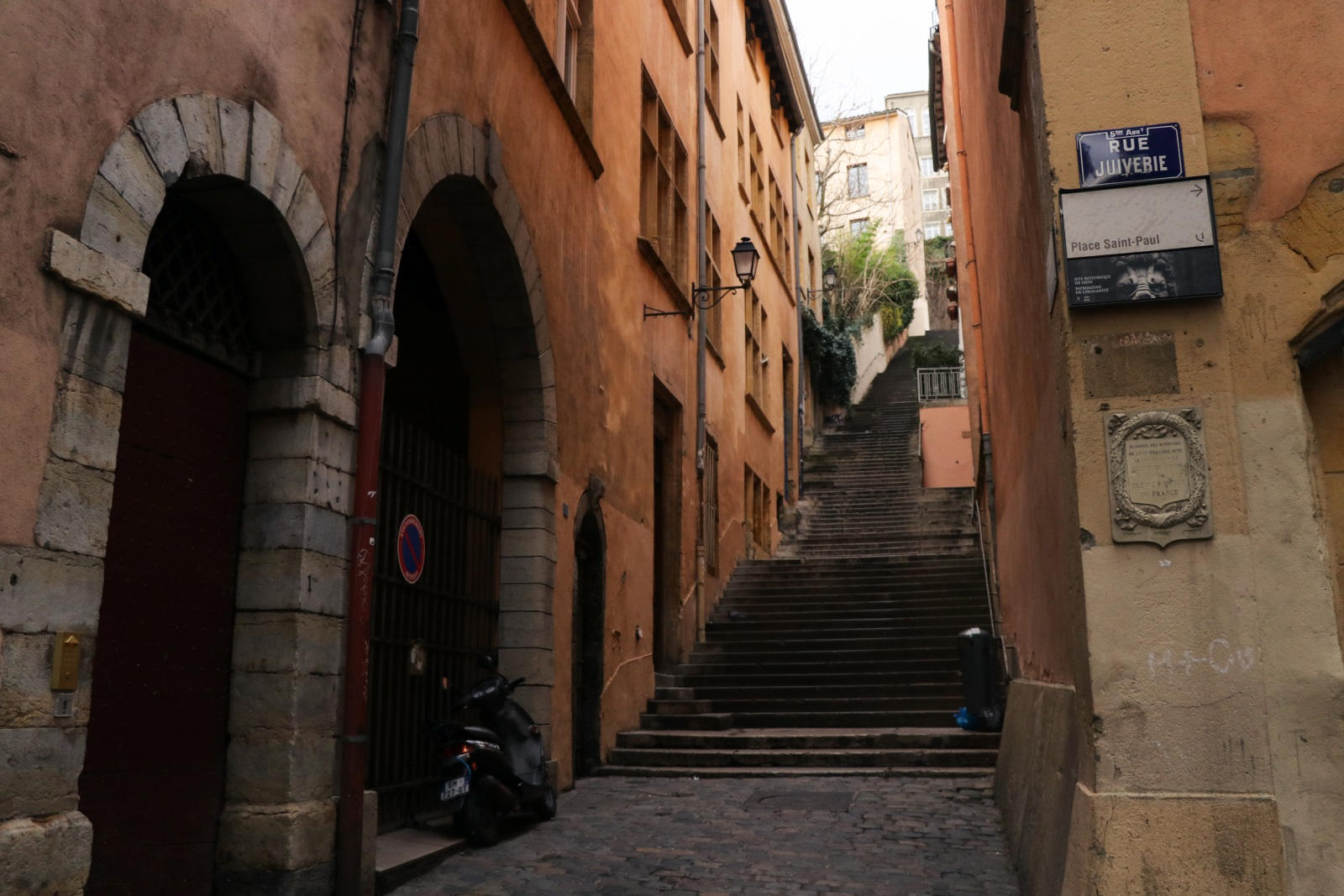 Улицы Старого города Лиона