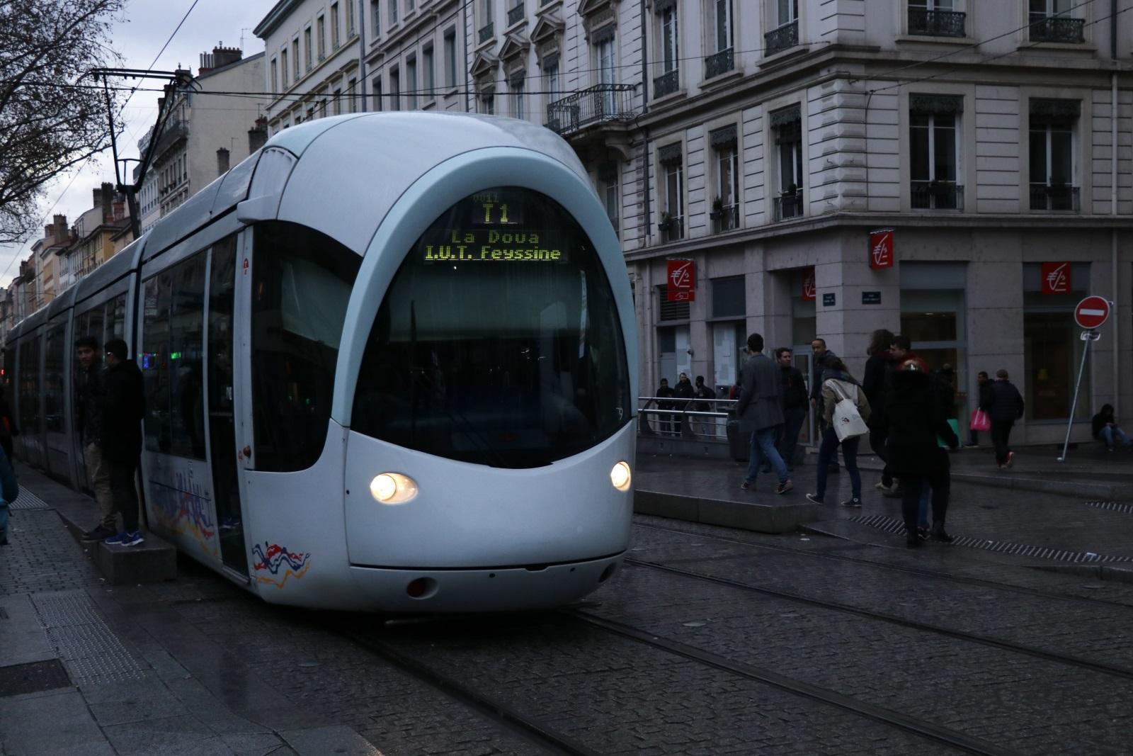 Лионский трамвай