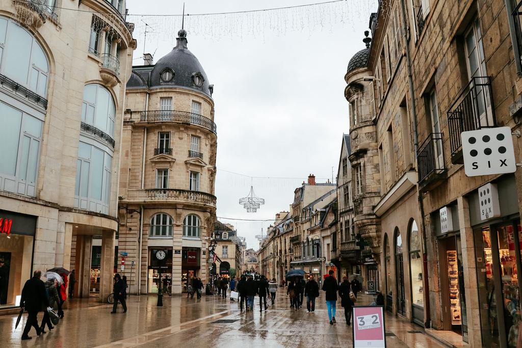 Виды города Дижон