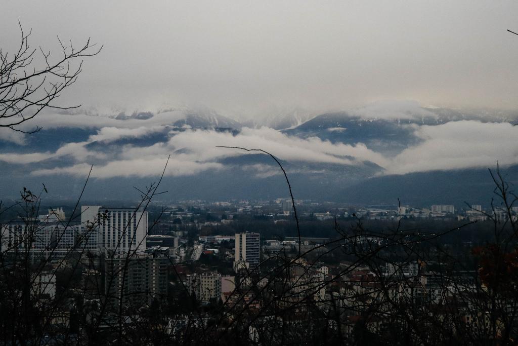 Вид на Гренобль