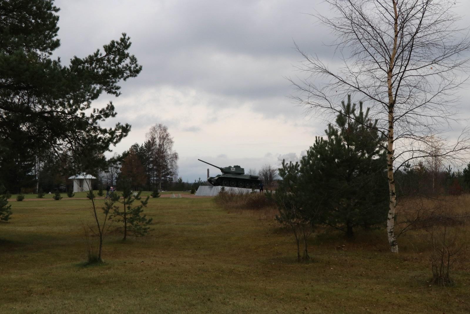 Захоронения на Невском пятачке
