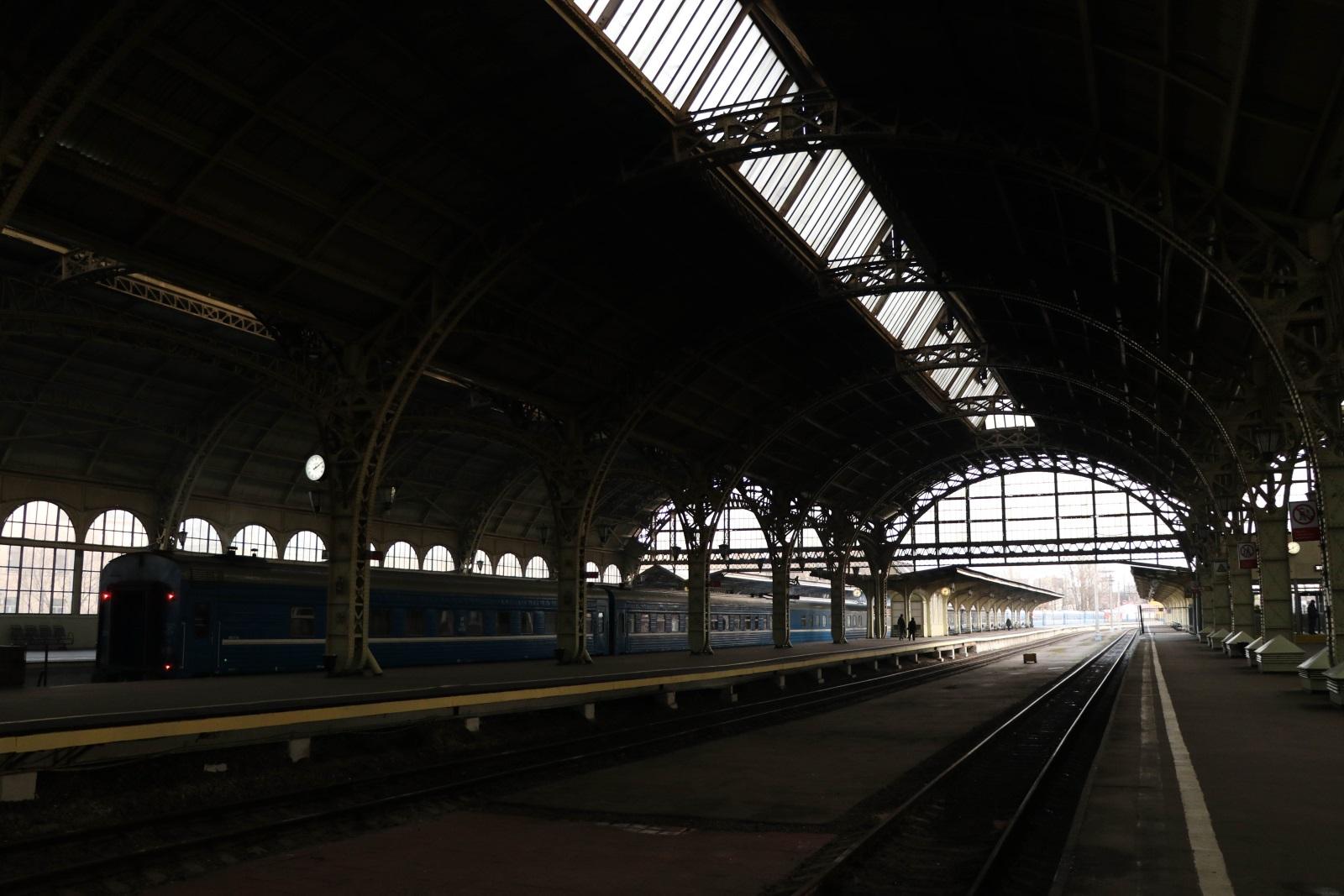 Интерьеры Витебского вокзала