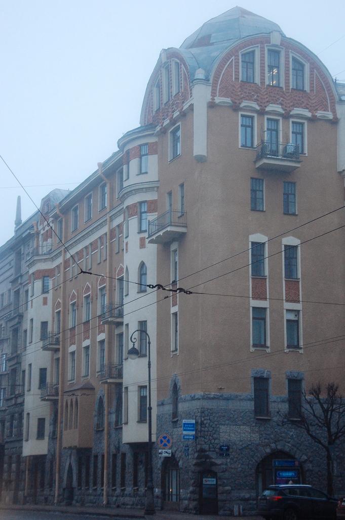 Дом в стиле модерн Маркова