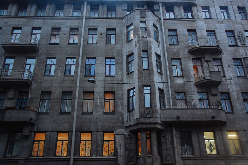 Дом в стиле модерн на Некрасова