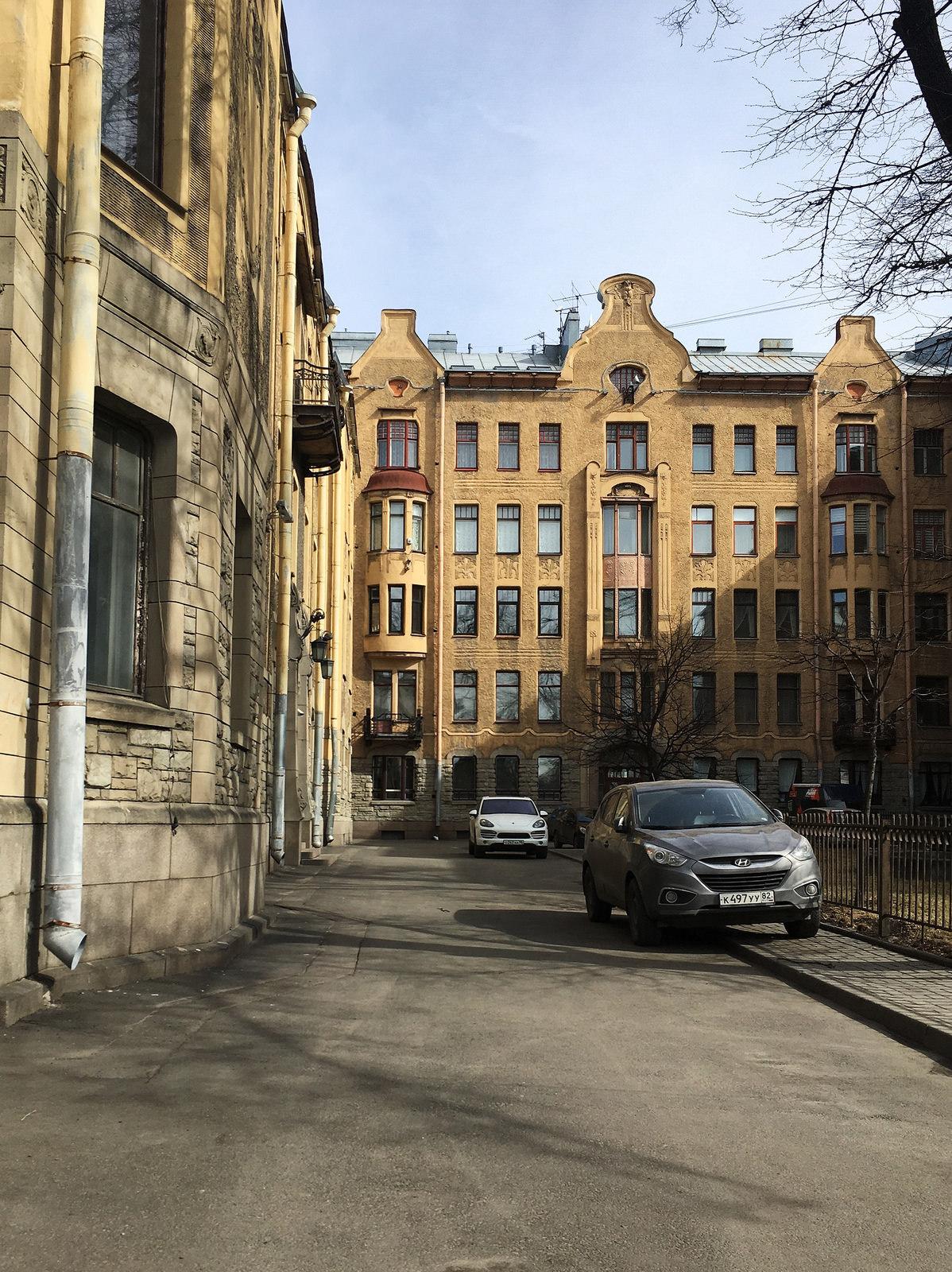 Дом Лидваля на Горьковской