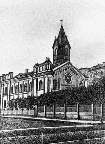 Латышская церковь на Загородном