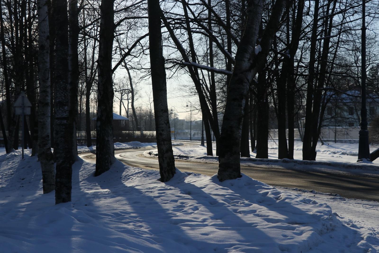 Зимняя панорама острова