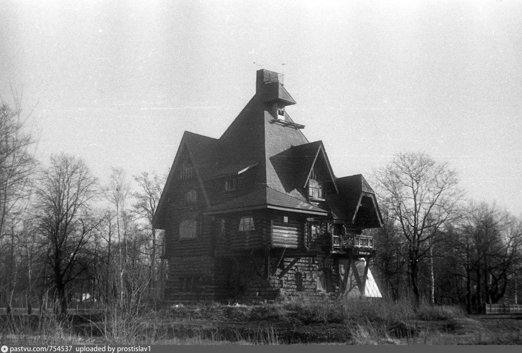 Историческое фото особняка Мельцера