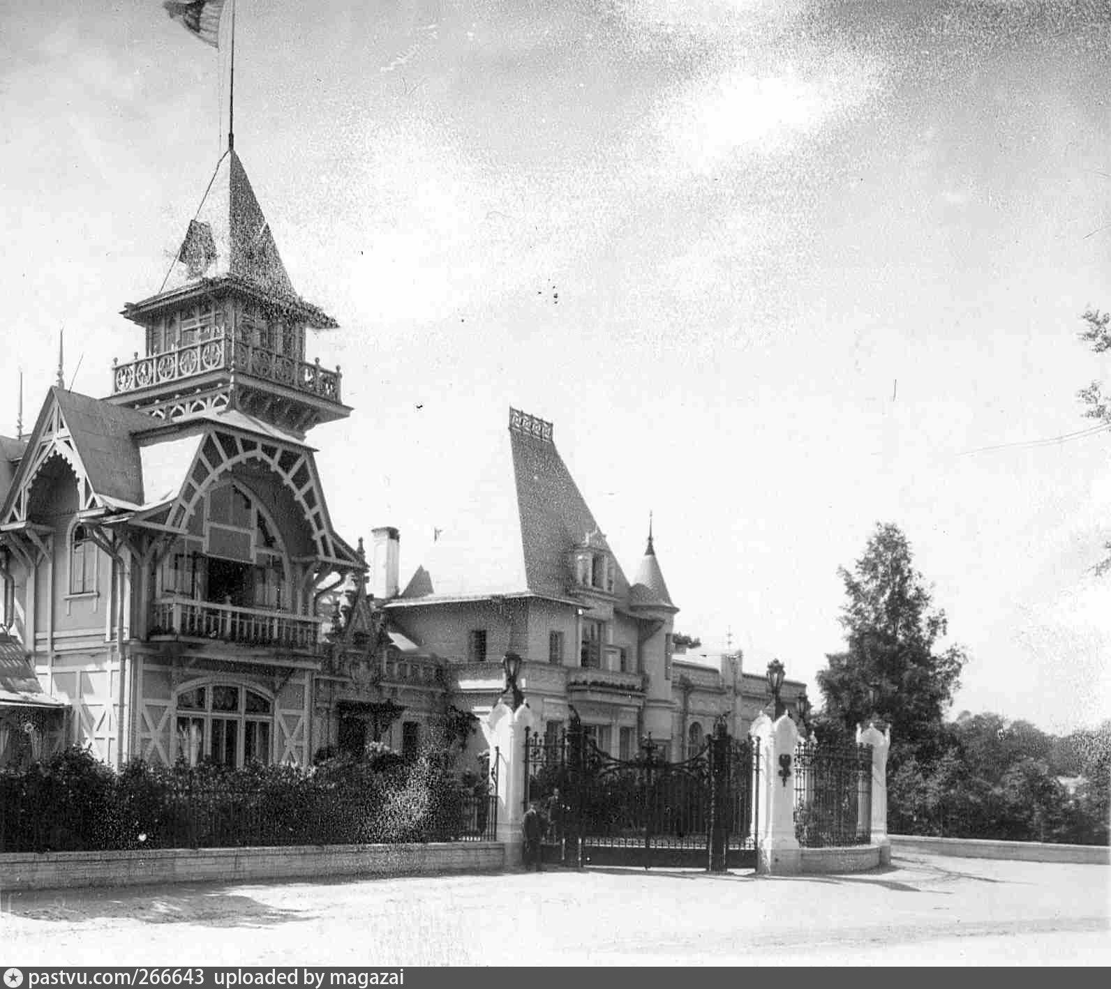 Исторического фото особняка Клейнмихель