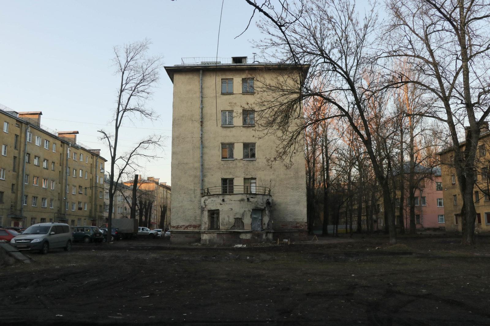 Жилмассив на Кондратьевском