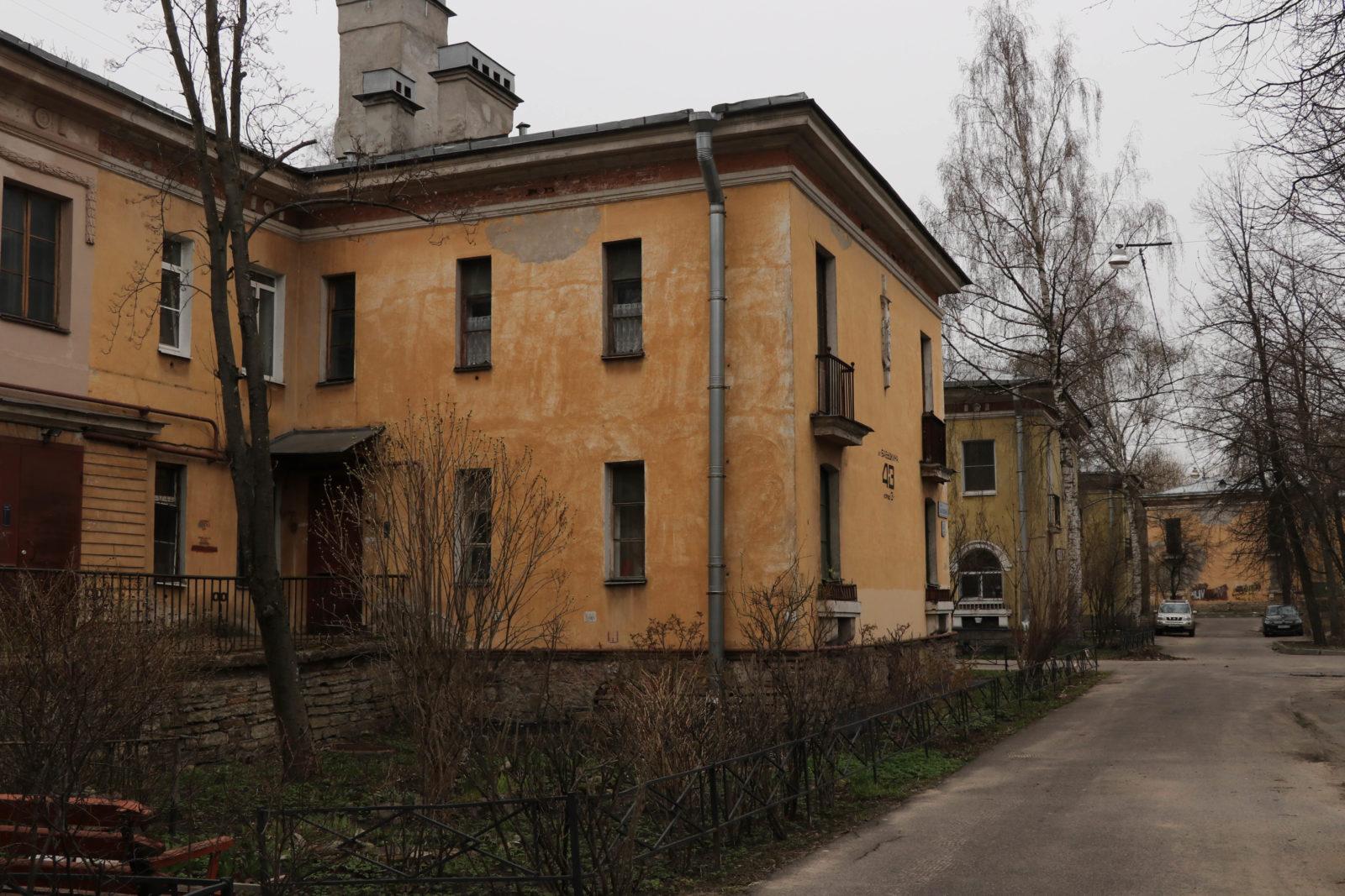 Жилмассив на Елизаровской