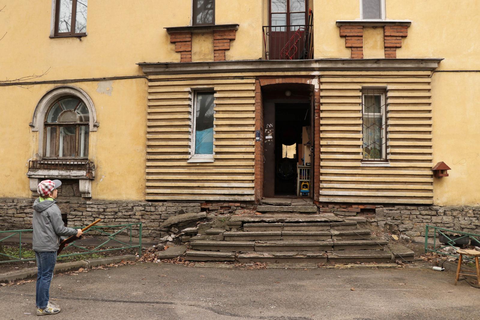Жилые дома на Елизаровской