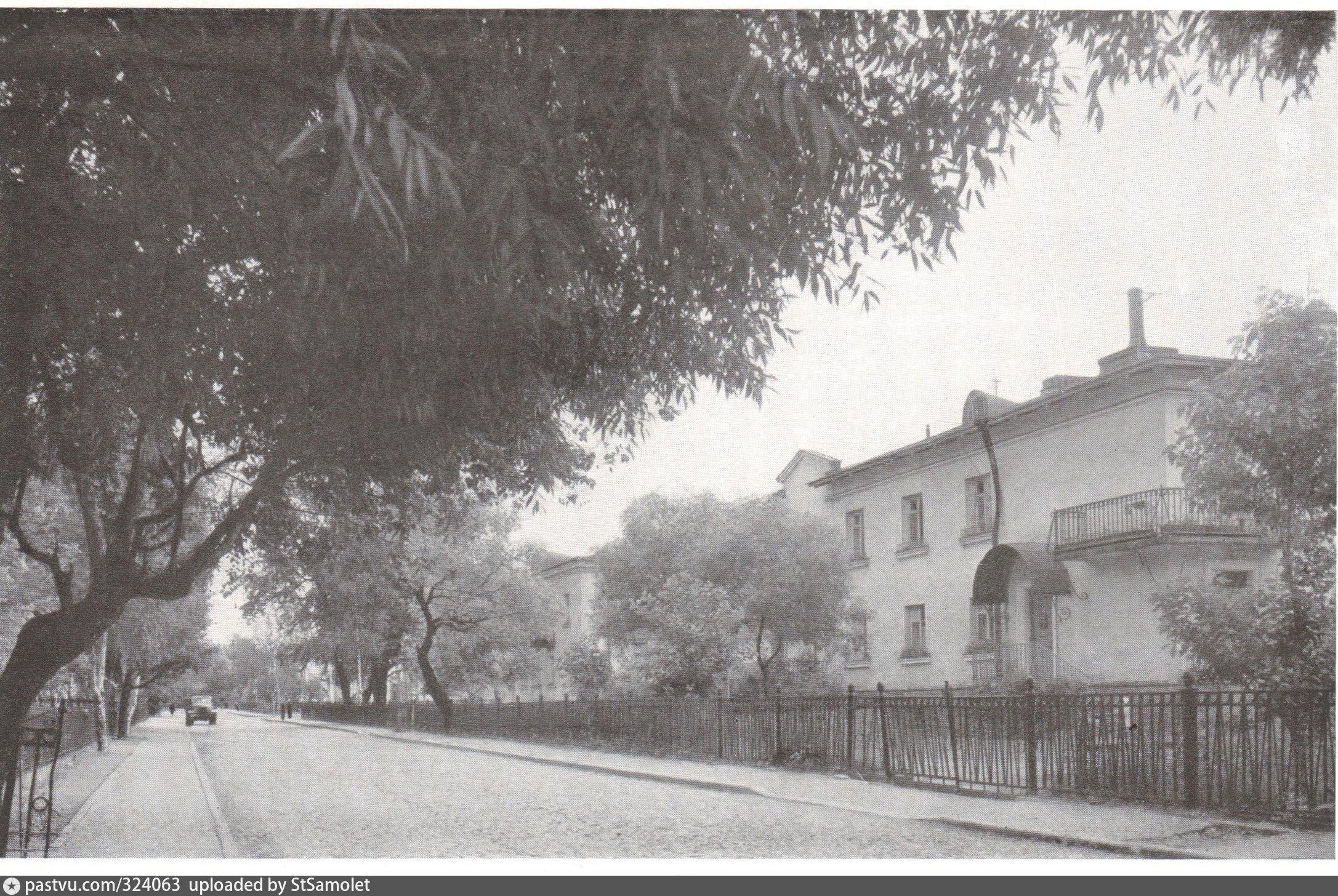 Историческая фотография жилмассива на Савушкина