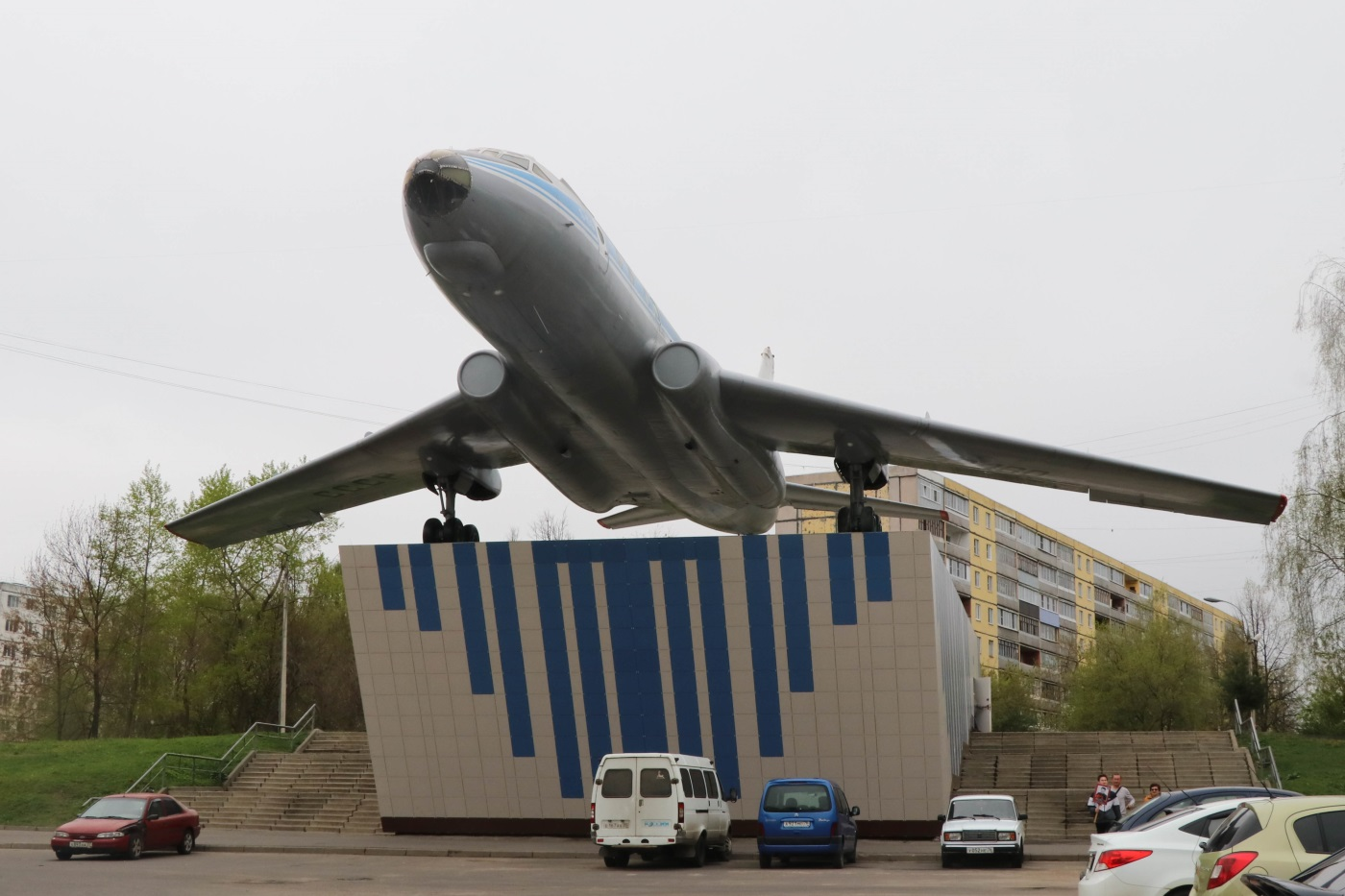 Самолёт ТУ104-А