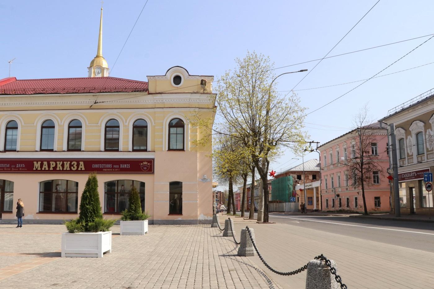 Главная площадь Рыбинска
